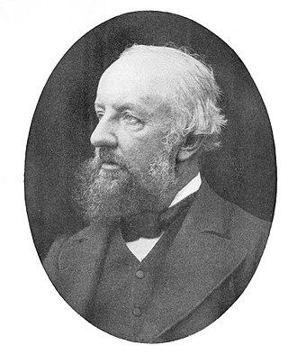 John Willis Clark - John Willis Clark, ca. 1880, photographed by A. G. Dew-Smith