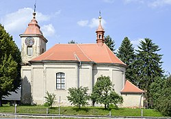 John of Nepomuk church in Bukovno 01.jpg