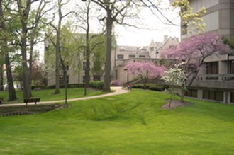 Youngstown State University - Area between Jones Hall and Maag Library (on right)
