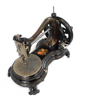 Jones Sewing Machine Company - Image: Jonesflower