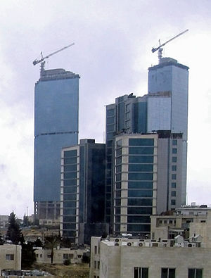 The district of Sweifieh's skyline