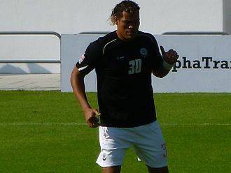 Detinho - Detinho before a game with Citizen in 2012