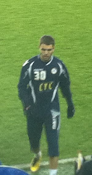Josh McQuoid - McQuoid playing for Millwall in 2010
