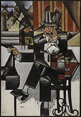 Man in a Café