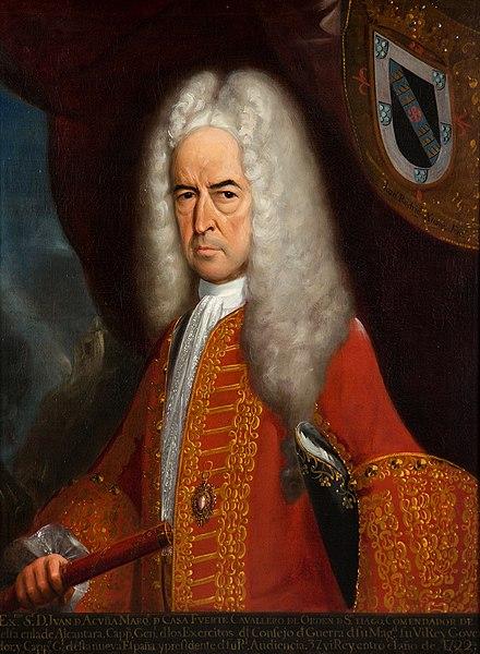Retrato de Juan de Acuña.