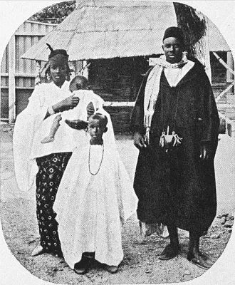 1914 Jubilee Exhibition - Africans from the Kongo village at the exhibition