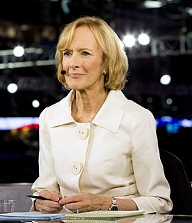 Judy Woodruff Television anchor and writer