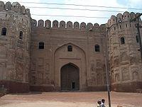 Roshnai Gate - Original gate built by Mughal emperor Akbar.