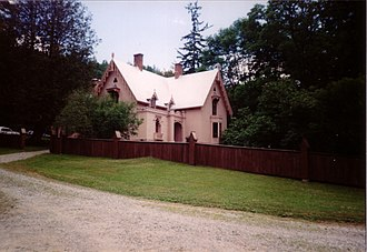 Justin Smith Morrill Homestead - The house in 2003