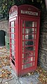 K6 Telephone Kiosk, High Street, Mansfield Woodhouse (Close up).jpg