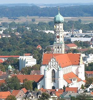 St. Ulrich's and St. Afra's Abbey - The abbey of Saint Ulrich and Saint Afra