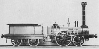 Steam locomotive - The Austria, the first locomotive in Austria