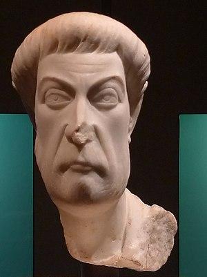 Eutropius (consul) - Bust of a Eutropius (probably not the Eutropius of this article) from Ephesus, dated to c. 450, in the Kunsthistorisches Museum Vienna