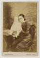 KITLV 41707 - Isidore van Kinsbergen - Mrs. Winckel-H -...- with baby Batavia - Around 1890.tif