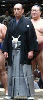 Kaiketsu Masateru Sumo wrestler