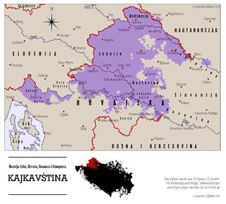 Kajkavian South Slavic language
