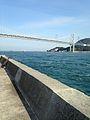 Kammonkyo Bridge from Dannoura Fishing Port 2.jpg