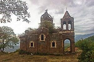 Kapan: Kapan, Kavart, Greek church, 1865 Капан, Каварт, Храм во имя Св. священномученика Харалампия, 1865 - panoramio