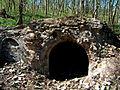 Kaplica grobowa z XIX wieku w ruinie..jpg