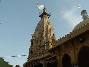 Hinduism in Pakistan - The Swaminarayan Temple in Karachi was a departure point for those migrating to India after independence.