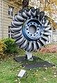 Karlsruhe, Laufrad einer Pelton-Turbine -- 2013 -- 5251.jpg