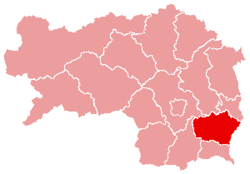 Feldbach District in Steiermark