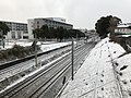 Kashii Line and Kagoshima Main Line near Kyushu Sangyo University 20180206-1.jpg