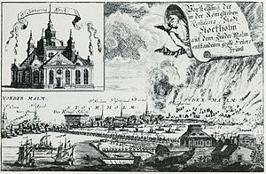 1723 in Sweden - Katarinabranden 1723
