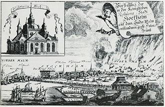 1723 in Sweden - Katarinabranden 1723