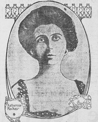 Clarence Mackay - Mackay's first wife, Katherine Duer Mackay.