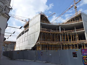 Floor - Multi-floor construction, Katowice (2012)