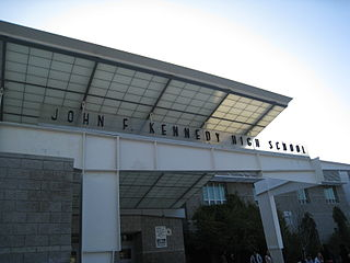 John F. Kennedy High School (Los Angeles) Public school in Los Angeles, California, United States