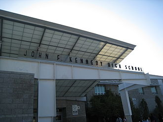 John F. Kennedy High School (Los Angeles) - Image: Kennedy High School (Los Angeles)