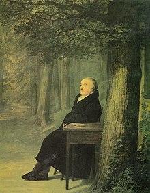 Bildnis des Buchhändlers C.Fr.Frommann (Gemälde von Georg Friedrich Kersting, 1824) (Quelle: Wikimedia)