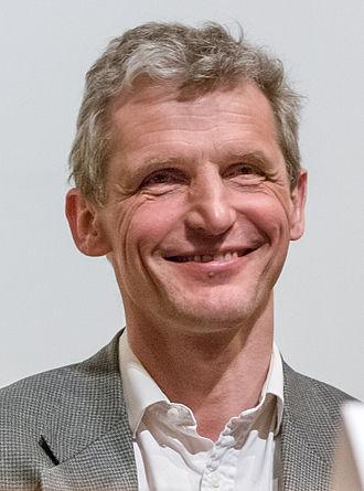 Wolfgang Ketterle - Wolfgang Ketterle at a symposium at Brown University, 2007