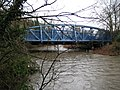 Kingston upon Thames, Knights Park bridge (1) - geograph.org.uk - 1179032.jpg