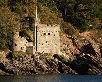 Kingswear Castle - Image: Kingswear Castle, closeup