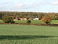 Kirstead House Farm viewed from the end of Kirstead Lane - geograph.org.uk - 1582384.jpg