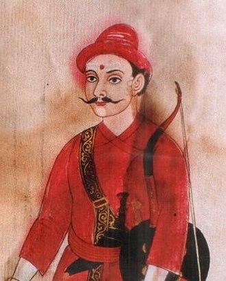 Basnyat family - Kirtiman Singh Basnyat, Mulkaji of Nepal (1794-1801), dynast of Basnyat family