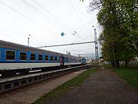 Klášterec nad Ohří, nádraží, vlak.JPG