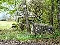 Kleindenkmal, Hochwasserdenkmal, 8. Juli 1987, errichtet von Förster Kächele - panoramio.jpg