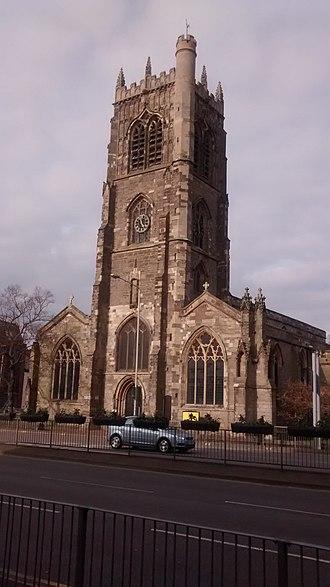 Knighton, Leicester - Image: Kościół Św. Magorzaty w Leicesterze