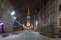 Kościół Mariacki w Katowicach. Podczas zimy..jpg