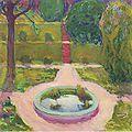 Kolo Moser - Garten mit Springbrunnen - 1911.jpeg