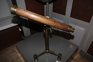 Comet seeker - Comet seeker telescope, Helsinki observatory. Made by Utzschneider and Fraunhofer in 1830s.