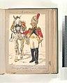 Koninklijk Holland. Trompetter der Garde Kavalerie (Grenadier te Paard). 1806 (NYPL b14896507-101480).jpg