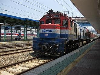 EMD GT26 Series - Korail 7300
