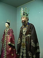 Silla king and queen's attire