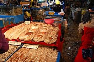 Garak Market - Image: Korea Seoul Garak Fish Market 01