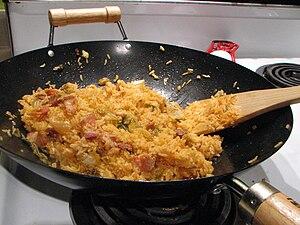 Fried rice - Korean kimchi-bokkeum-bap